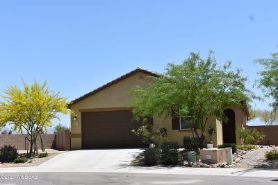Marana Single Family Home Active Contingent: 11496 W Boll Bloom Drive