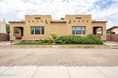 Tucson Single Family Home Active Contingent: 610 E Helen Street