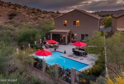 Tucson Single Family Home Active Contingent: 39223 Rodeo Buckle Drive