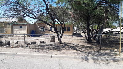 Tucson Single Family Home For Sale: 1602 W Ajo Way