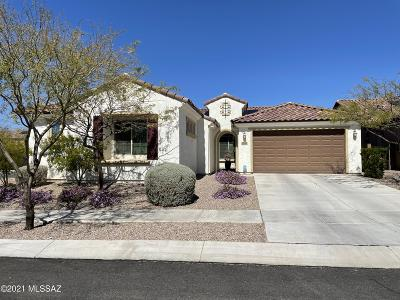 Tucson Single Family Home Active Contingent: 10981 E Lone Pine Place
