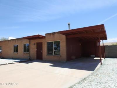 Tucson Townhouse Active Contingent: 7646 E Queen Palm Circle