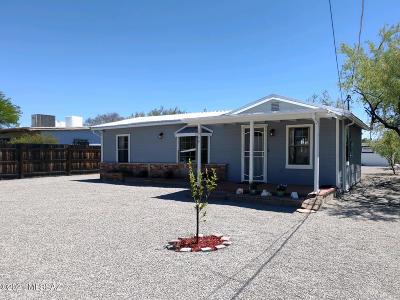 Tucson Single Family Home Active Contingent: 3954 E Hayhurst Lane