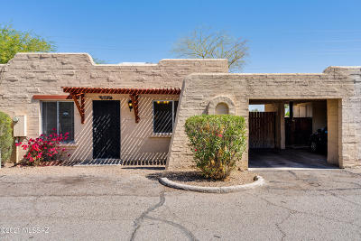 Tucson Townhouse For Sale: 1864 W Record Street