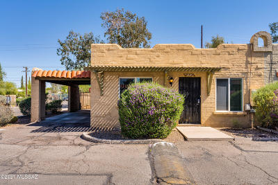 Tucson Townhouse For Sale: 1884 W Record Street