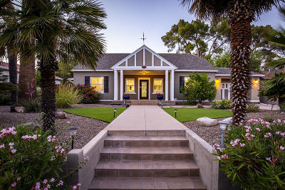 Tucson Single Family Home For Sale: 1923 E 4th Street