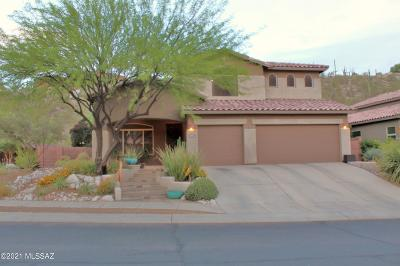 Tucson Single Family Home For Sale: 4078 N Sunset Cliff Place