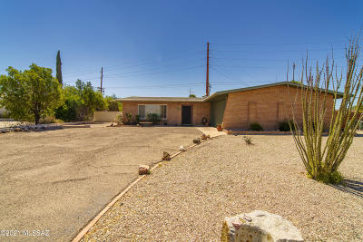 Tucson Single Family Home For Sale: 5772 E Seneca Street