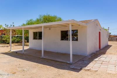 Tucson Single Family Home Active Contingent: 3914 S 15th Avenue