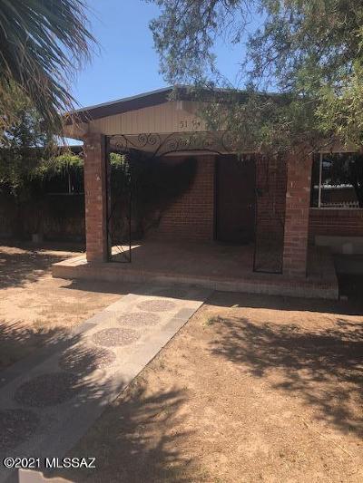 Tucson Single Family Home For Sale: 5154 E 28th Street