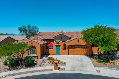 Oro Valley Single Family Home For Sale: 13609 N Napoli Way