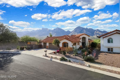 Oro Valley Single Family Home Active Contingent: 387 E Shore Cliff Place