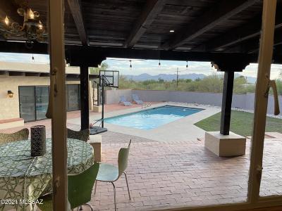 Tucson Single Family Home Active Contingent: 6245 N Camino Escalante