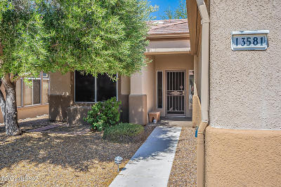 Oro Valley Single Family Home Active Contingent: 13581 N Pima Spring Way