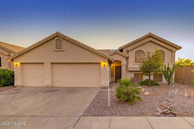 Oro Valley Single Family Home For Sale: 11721 N Skywire Way
