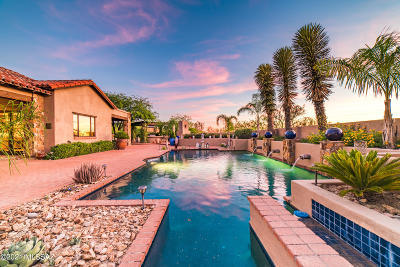 Oro Valley Single Family Home Active Contingent: 13751 Old Forest Trail