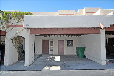 Tucson Townhouse Active Contingent: 634 W Placita De Las Lomitas