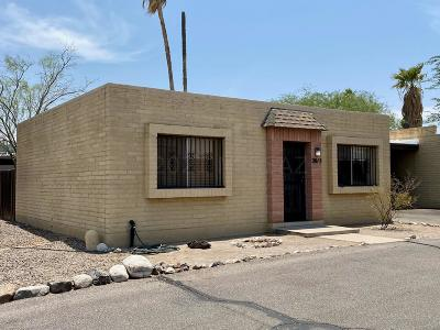 Tucson Townhouse Active Contingent: 2815 N Fontana Avenue