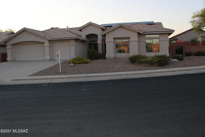 Oro Valley Single Family Home For Sale: 11027 N Canada Ridge Drive