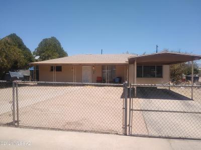 Tucson Single Family Home For Sale: 850 W Santa Maria Street