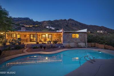 Tucson Single Family Home Active Contingent: 4230 E Coronado Drive