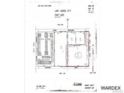 Lake Havasu City Residential Lots & Land For Sale: 1720 Acoma Blvd W