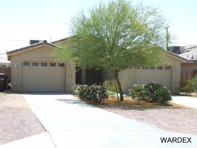 Parker Single Family Home For Sale: 1118 S Chemehuevi Ave