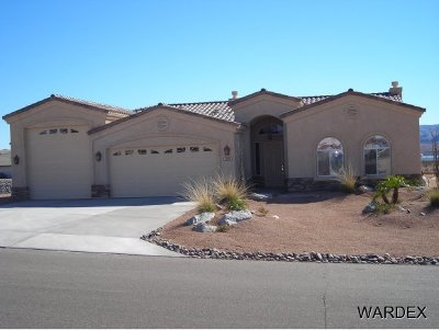 Lake Havasu City Single Family Home For Sale: Abbey Plus Plan On Your Lot