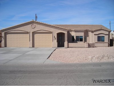 Lake Havasu City Single Family Home For Sale: Scottsdale Plan On Your Lot