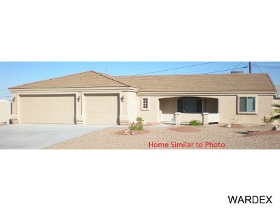 Lake Havasu City Single Family Home For Sale: 1528 On Your Level Lot