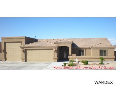 Lake Havasu City Single Family Home For Sale: 2070 On Your Level Lot