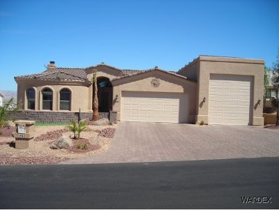 Lake Havasu City Single Family Home For Sale: Sterling Plan On Your Lot