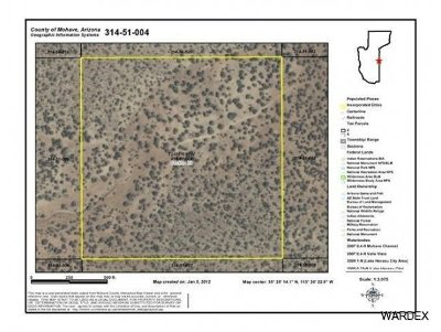 Peach Springs AZ Residential Lots & Land For Sale: $24,900