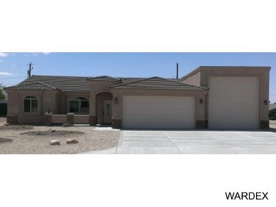 Lake Havasu City Single Family Home For Sale: 1610 On Your Level Lot