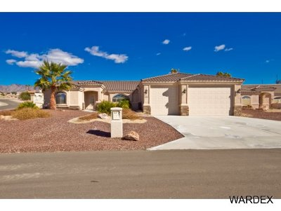 Lake Havasu City Single Family Home For Sale: 1919 On Your Level Lot