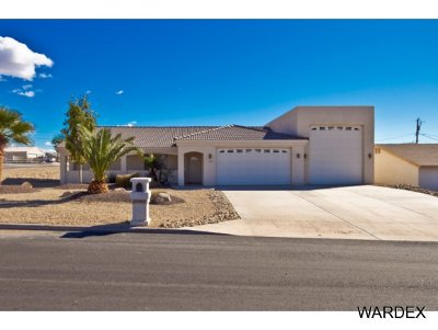 Lake Havasu City Single Family Home For Sale: 1556RV On Your Lot