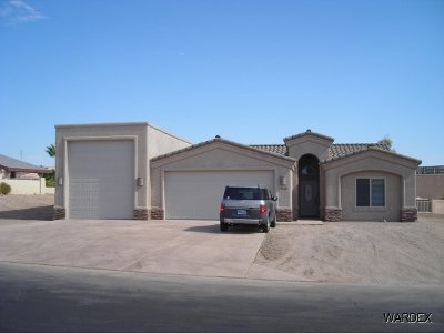 Lake Havasu City Single Family Home For Sale: Highlander Plan On Your Lot
