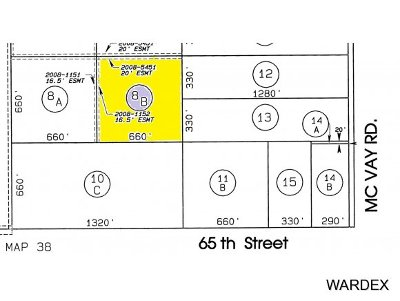 Parker, Bouse Residential Lots & Land For Sale: 53691 E 65th Street
