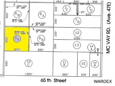 Parker, Bouse Residential Lots & Land For Sale: 53565 E 65th Street