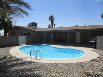 Lake Havasu City Single Family Home For Sale: 190 Aspen Dr