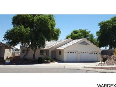 Mohave Valley AZ Single Family Home For Sale: $245,000
