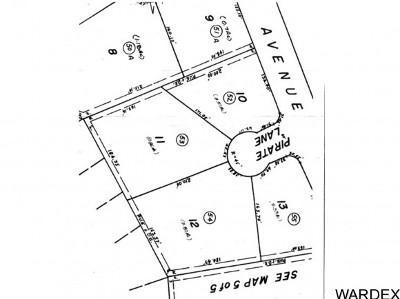 Lake Havasu City Residential Lots & Land For Sale: 1950 Pirate Ln