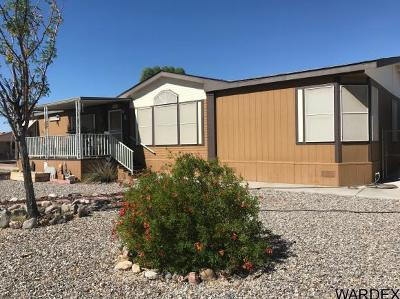 Mohave County Manufactured Home For Sale: 2550 E Iroquois Rd