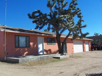 Meadview Single Family Home For Sale: 26416 N Apple Dr #LMC