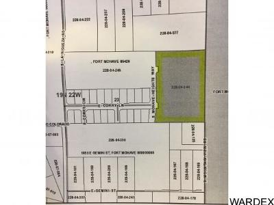 Fort Mohave Residential Lots & Land For Sale: Corry Ln