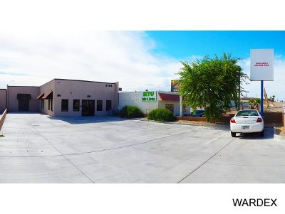 Bullhead City, Golden Valley Commercial For Sale: 2755 Highway 95