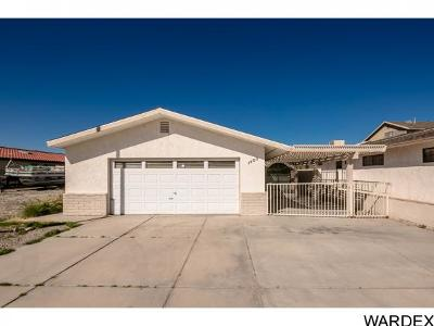 Bullhead City Single Family Home For Sale: 1403 Riverfront Dr