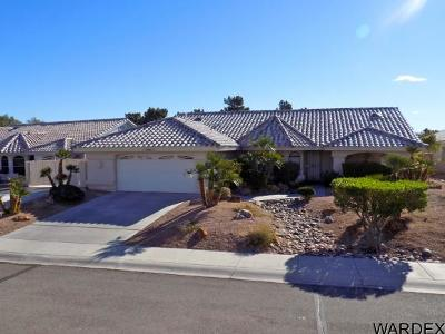 Bullhead City Single Family Home For Sale: 2242 Sunrise Trl