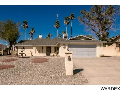 Lake Havasu City Single Family Home For Sale: 2161 Daytona Ave