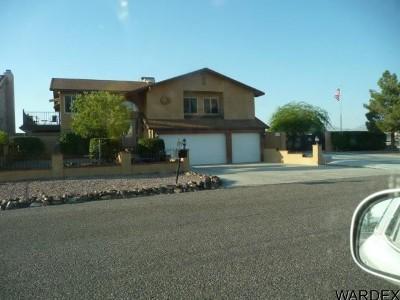 Bullhead City Single Family Home For Sale: 2599 Avenida Grande